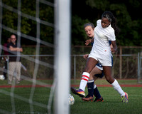 High School girls soccer FLorence at Trenton Catholic