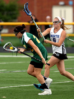 Girls Lacrosse: West Windsor Plainsboro South at West Windsor Plainsboro North 5/09/2012