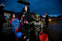 Trenton police hold 3rd Annual Trunk or Treat