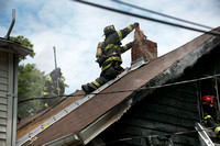 Duplex house fire in Bordentown City