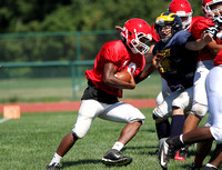 HS FOOTBALL (Scrimmage) - Lawrence at Florence Township Memorial