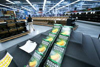 Pre-opening look inside the new Hamilton Walmart