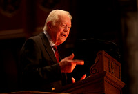 Former President Jimmy Carter speaks at Princeton U. 12/3/2014