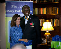 New Jersey First Lady Mary Pat Christie announces Heart of Hero Scholarship in Princeton