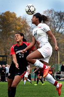 High School girls soccer Pennington at Hun for the Prep A Tournament title
