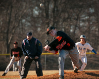 High School baseball Hamilton West at Hightstown 4-1-2015