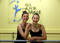 Arianna Lipschutz and Kristin Potocki will train with the Rockettes this summer