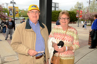 Trenton Thunder Fan Photos from Times Square 05/08/2014