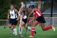 High School field hockey Lawrence at Hamilton West 2014-10-16
