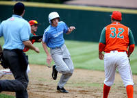 LEGION BASEBALL: North Hamilton Hibernians at Bordentown Post 26 6/11/2014