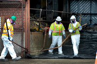 Asbestos remediation begins at former Roebling Steel Mill in Tre