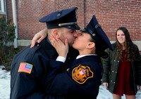 Police Academy graduation and a marriage proposal for new Ewing officer Brittney Fornarotto