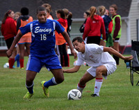 BOYS SOCCER: Ewing at Lawrence 10/23/2014