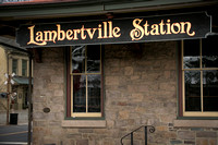 Bill of Fare at The Lambertville Station