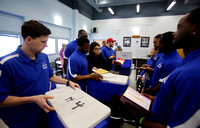 Trenton Freedom indoor football team serves Meals on Wheels 3/19/2014