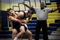High School wrestling Notre Dame at New Egypt 2016-01-18