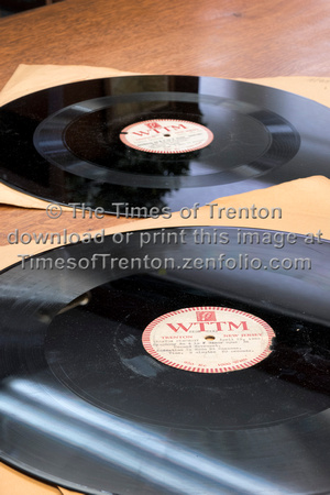 LP records from 1950 featuring the Trenton Symphony found in lib
