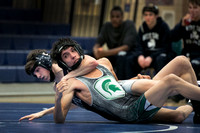 High School wrestling Steinert at Notre Dame 2016-02-03