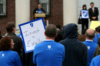 AFT Rally at TCNJ