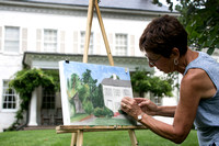 Plein Air Drawing/Painting at Morven Museum & Garden in Princeton