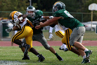 Bishop McDevitt (PA) at Steinert football in Hamilton on September 26