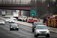 Crash closes part of Route 1 south in Central Jersey