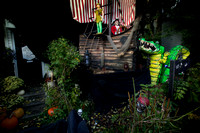 Bordentown block transforms for Halloween