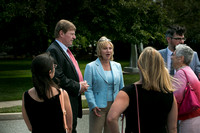 Lt. Governor Kim Guadagno at Grounds for Sculpture for Tourism Tuesday