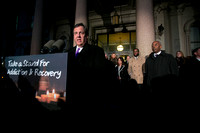 Take a Stand For Addiction Candlelight Vigil on State House step