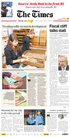 2012 Times of Trenton Front Page prints