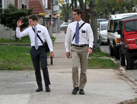 Mormon missionaries serving in the Mercer County region