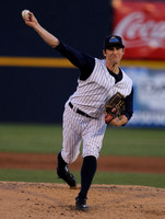 Portland Sea Dogs and Trenton Thunder 4/9/2014