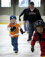 Open skating at the Ice rink at Mercer County Park 2014