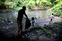 Promise's Street Leader program cleans up Mill Hill Park 7/11/2014
