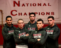 Rider University wrestling national qualifiers 3/13/2014