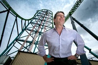 John Fitzgerald, president of Six Flags Great Adventure, in Jackson