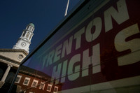 Trenton Central High School gets ready for a new year in different locations
