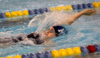 SWIMMING: Notre Dame vs Lawrence High 01/20/2014