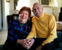 Irene and Sam Goldfarb, of Princeton, married 63 years
