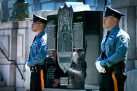 Trenton police honor their fallen officers