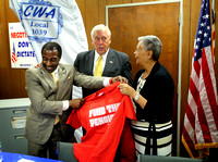 House Whip Steny Hoyer endorses Bonnie Watson Coleman for Congress 7/7/2014