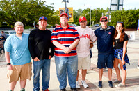 Trenton Thunder Fan Photos from Times Square 08/29/2014