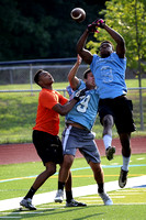 7 on 7 scrimmage at Notre Dame 7/30/2014