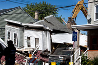 Investigators sift through wreckage of Trenton house explosion t