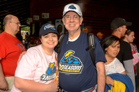 Trenton Thunder Fan Photos from Times Square 5/20/2014