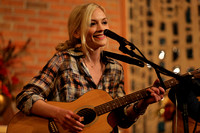 Walking Dead star Emily Kinney performs at an epilepsy awareness concert in Ewing 10/24/2014