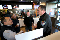 'Coffee with a Cop' at Trenton McDonald's