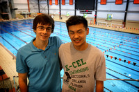 Dan Andronov and Eric Tong will attend the USA swimming Junior National Championships