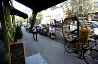 Small World Cafe in Princeton participates in international Parking Day 9/19/2014