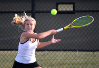 GIRLS TENNIS: Hopewell Valley at Allentown 9/22/2014